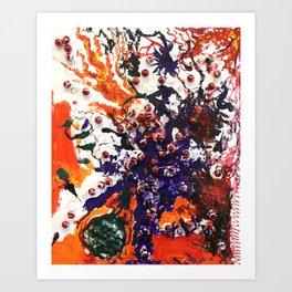 The Fire of Adversity Art Print