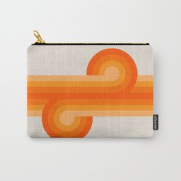 Creamsicle Knots Carry-All Pouch