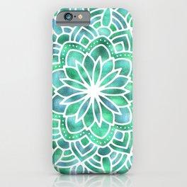 Mandala Southwest Succulent iPhone Case