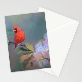 Cardinal Morning Stationery Cards