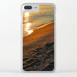 relax and regroup Clear iPhone Case