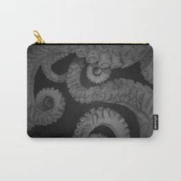 Octopus BW. Carry-All Pouch