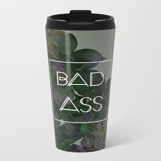 BADASS Metal Travel Mug