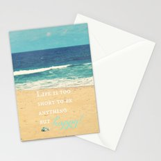 Life is too Short Stationery Cards