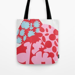 Fashion Mix Colors Tote Bag