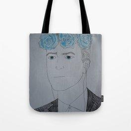 David Lynch Flower Crown Tote Bag