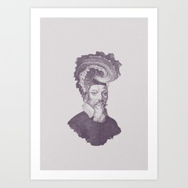 Haute Coiffure  /#8 Art Print
