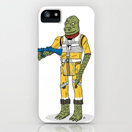 Bossk Action Figure iPhone Case