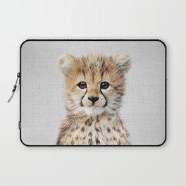 Baby Cheetah - Colorful Laptop Sleeve