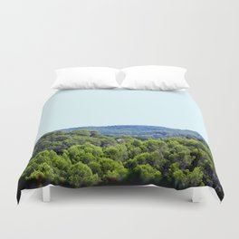 Ocean Green Duvet Cover