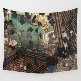 Battlescene Wall Tapestry