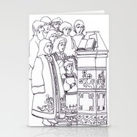 christian Stationery Cards featuring Christian service by Shelby Claire