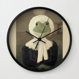 Madame Froggy Wall Clock