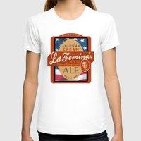 ale giorgini T-shirts featuring American Cream Ale by La Femina Brewing Co.
