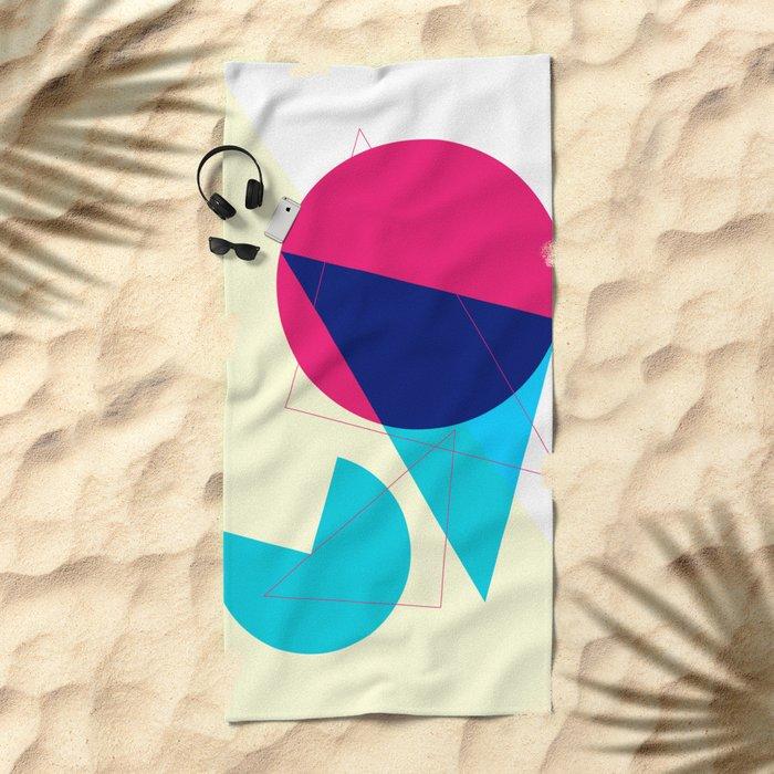 One Sunny Day Beach Towel