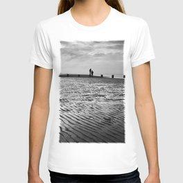 Couple on Cleethorpes Beach T-shirt