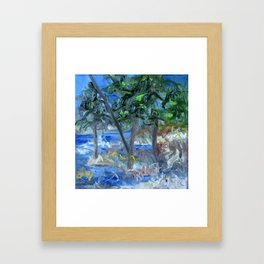 Storm in Kawartha Highlands Framed Art Print