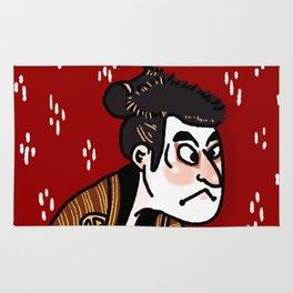 Fierce Kabuki Rug