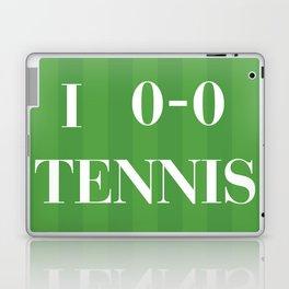 I heart Tennis Laptop & iPad Skin