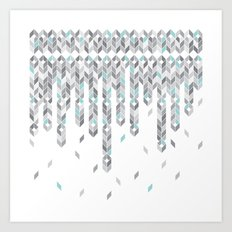 Icicles Art Print