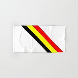 Flag of belgium 4 belgian,belge,belgique,bruxelles,Tintin,Simenon,Europe,Charleroi,Anvers,Maeterlinc Hand & Bath Towel