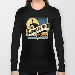 Halloween Moon Long Sleeve T-shirt