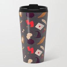 Magic Pattern Metal Travel Mug