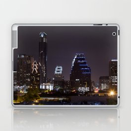 Nighttime Austin Laptop & iPad Skin
