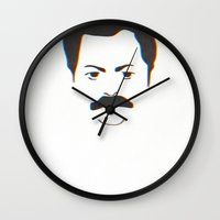 swanson Wall Clocks featuring Swanson by Dabwood2
