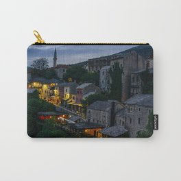Night Mostar city Carry-All Pouch