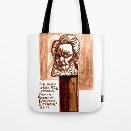 Rare Henrik Ibsen Pez dispenser illustration Tote Bag
