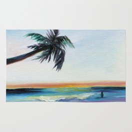 Be Back At Sunset Rug
