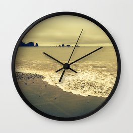Twilight Beach Wall Clock