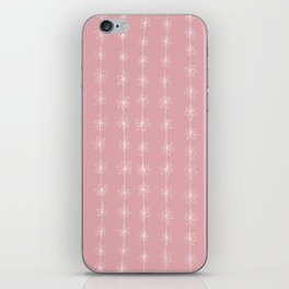 Pink Daisy Chain (Large Print) iPhone Skin