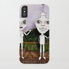 king and queen Slim Case iPhone X