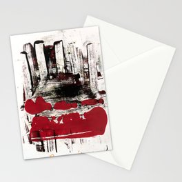 blood and marrow v2 Stationery Cards