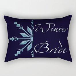 Winter Bride Rectangular Pillow