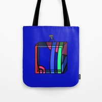 frames Tote Bags featuring Frames 01 by Stefan Stettner