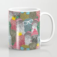 it crowd Mugs featuring The crowd. by panova