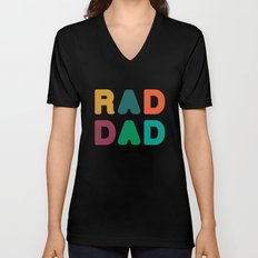 Rad Dad Unisex V-Neck