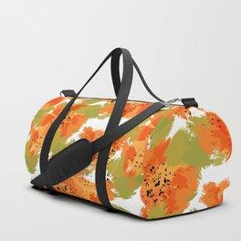 Papaya Explosion #society6 #papaya Duffle Bag