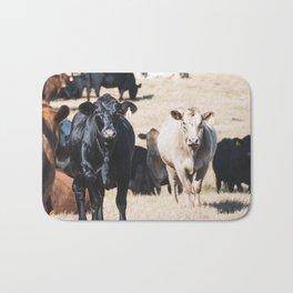 Cow portrait Bath Mat
