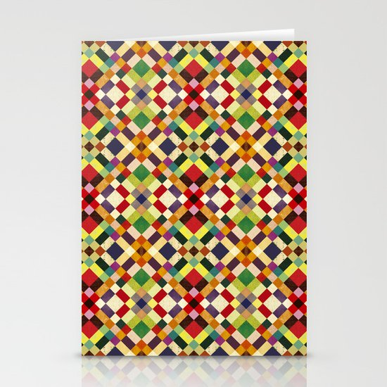 Pixel Stationery Cards