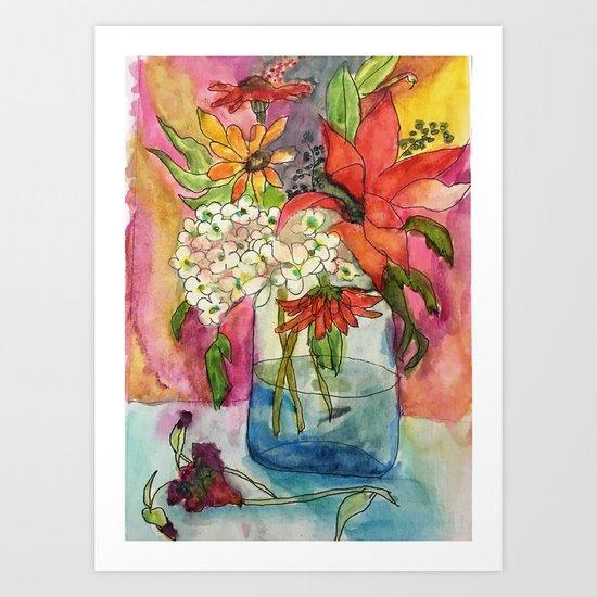Fall Flower Bouquet by bellefleurist
