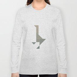 Tangram / Duck Long Sleeve T-shirt