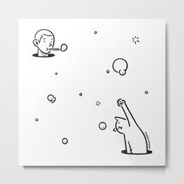 Bubblepop Metal Print