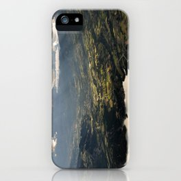 Looking Down From The Clouds iPhone Case