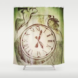 Internal Time Shower Curtain