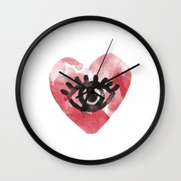 Clear Eyes Full Hearts Can't Lose Wall Clock