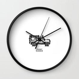 front runner - rover Wall Clock